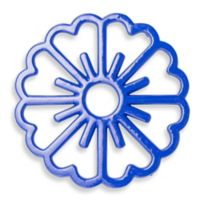 Old Dutch International Bloom Trivet in Dazzling Blue