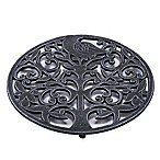 Old Dutch International Tree of Life Trivet in Antique Pewter