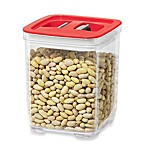 Oggi™  32 fl. oz. Stack-N-Store Square Canister with Red Lid