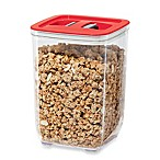 Oggi™ 62 fl. oz. Stack-N-Store Square Canister with Red Lid