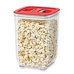 Oggi™ 100 fl. oz. Stack-N-Store Square Canister with Red Lid