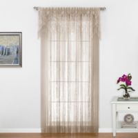 Gala 84-Inch Window Curtain Panel in Ecru