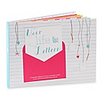 """Your Life in Letters"" Child's Keepsake Book in Pink"