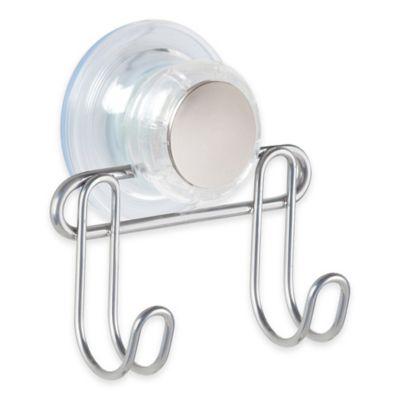 InterDesign® Turn N Lock 2 Hook Suction Bar