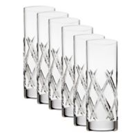 Top Shelf Bevel Crystal Shot Glasses (Set of 6)