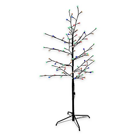 9 Pre Lit Tree With Led Lights LED Lighted Tree Wiring