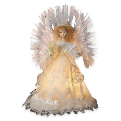 Buy Tree Topper From Bed Bath Beyond - Christmas Angel Tree Topper Lighted