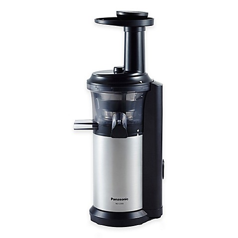 Slow Juicer Bed Bath And Beyond : Panasonic Slow Juicer with Frozen Treat Attachment - Bed ...