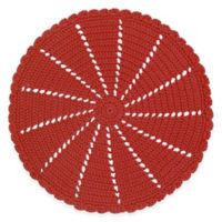 Heritage Lace® Mode Crochet Doily in Ruby