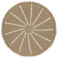 Heritage Lace® Mode Crochet Doily in Tan