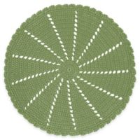 Heritage Lace® Mode Crochet Doily in Sage