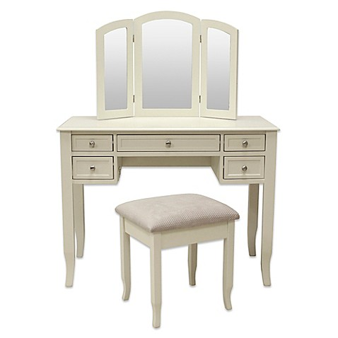 makeup vanity table 2 vanity set with power and usb 3984