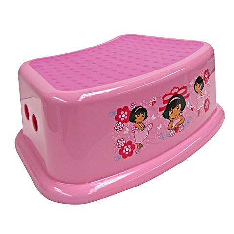 Ginsey Dora The Explorer Step Stool Bed Bath Amp Beyond