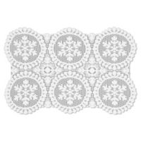 Heritage Lace® Yuletide Placemat in White