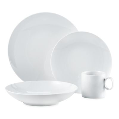 Rosenthal Thomas Loft 4-Piece Place Setting in White  sc 1 st  Bed Bath u0026 Beyond : rosenthal thomas dinnerware - pezcame.com