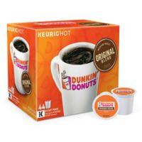 Keurig® K-Cup® 44-Count Dunkin' Donuts® Original Blend Coffee