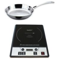 BergHOFF 2-Piece Induction Stove and Stainless Steel Fry Pan Set
