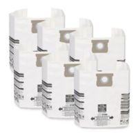 WORKSHOP® Emerson 6-Pack General Dust Filter Bag for 15-22 Gallon Wet/Dry Vacuums
