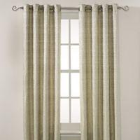 Montclair 108-Inch Grommet Top Window Curtain Panel in Green