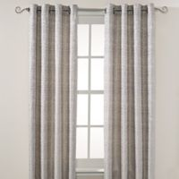 Montclair 84-Inch Grommet Top Window Curtain Panel in Blue