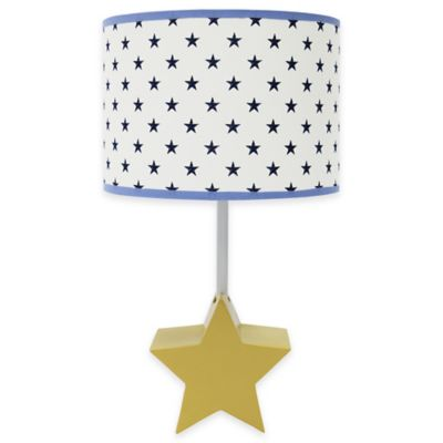 The Peanut Shell® Stargazer Lamp Base with Shade - Buy Yellow Lamp Base From Bed Bath & Beyond