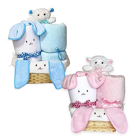 Pink Baby Baskets