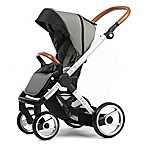 Mutsy Evo Urban Nomad Stroller in Silver/Light Grey