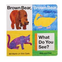 """Brown Bear, Brown Bear, What Do You See?"" Slide & Find Book by Bill Martin Jr."
