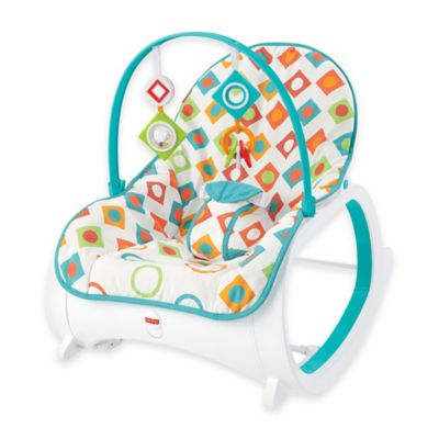 Infant Seats U003e Fisher Price® Infant To Toddler Rocker In Geo Diamonds