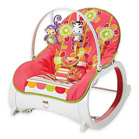 Fisher-Price® Infant-to-Toddler Rocker in Floral Confetti - Bed Bath ...