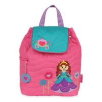 Stephen Joseph Princess Quilted Backpack in Pink