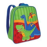 Stephen Joseph Dino Go Go Backpack in Green/Red