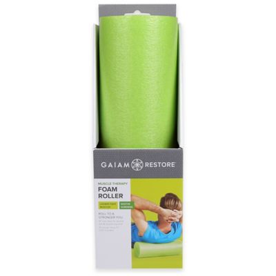 Gaiam® Restore 18-Inch Muscle Therapy Foam Roller