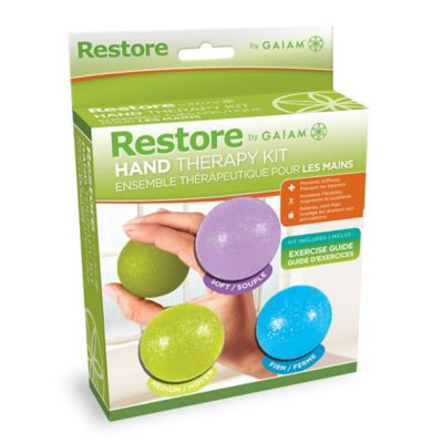Gaiam® Restore Hand Therapy Kit