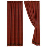 HiEnd Accents Cascade Lodge 84-Inch Window Curtain Panel