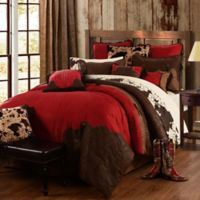 HiEnd Accents Red Rodeo 5-Piece King Comforter Set