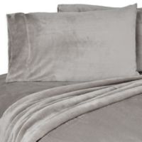 Berkshire VelvetLoft® King Pillowcases in Grey (Set of 2)