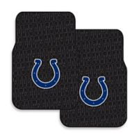 NFL Indianapolis Colts Rubber Car Mats (Set of 2)