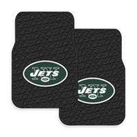 NFL New York Jets Rubber Car Mats (Set of 2)