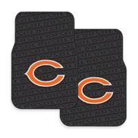 NFL Chicago Bears Rubber Car Mats (Set of 2)