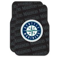 MLB Seattle Mariners Rubber Car Floor Mats (Set of 2)