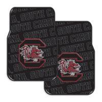 University of South Carolina Rubber Car Floor Mats (Set of 2)