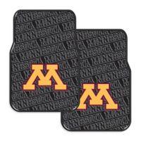 University of Minnesota Rubber Car Floor Mats (Set of 2)