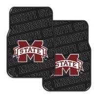 Mississippi State University Rubber Car Floor Mats (Set of 2)
