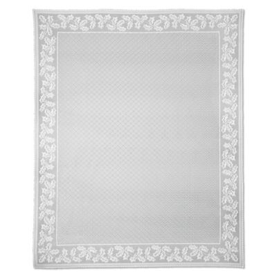 Heritage Lace® Holly Vine 70 Inch X 108 Inch Oblong Tablecloth In White