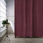 Escondido 72-Inch x 84-Inch Shower Curtain in Burgundy