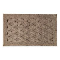 Diamond 20-Inch x 32-Inch Bath Rug in Stone
