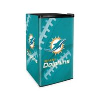 NFL Miami Dolphins Countertop Height Refrigerator