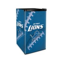 NFL Detroit Lions Countertop Height Refrigerator