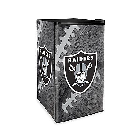 Countertop Height Fridge : NFL Oakland Raiders Countertop Height Refrigerator - Bed Bath & Beyond